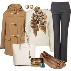"""Neutrals"" by wannabchef on Polyvore"