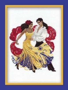 Latin dancers