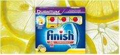 Free Finish Quantum Sample. Dishwasher product. Click here and submit your info in order to receive the Free Sample.
