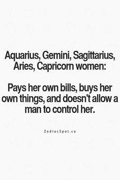 Capricorn woman