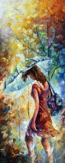 Leonid Afremov léleksimogató festményei   Életszépítők
