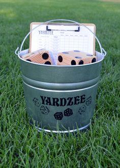 Yardzee and Farkle Dice Set by JPSFamilyCreations on Etsy https://www.etsy.com/listing/464163464/yardzee-and-farkle-dice-set