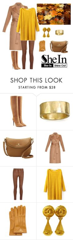 """Sheln Contest"" by dezaval ❤ liked on Polyvore featuring Ralph Lauren Collection, CLP Jewelry, Vince Camuto, Gucci, MiH Jeans, Prada and Chanel"