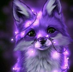 Cute Fox Drawing, Cute Animal Drawings Kawaii, Cute Fantasy Creatures, Mythical Creatures Art, Cute Cartoon Pictures, Baby Animals Pictures, Super Cute Animals, Cute Baby Animals, Magic Background