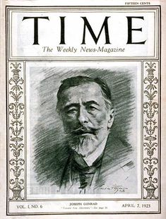 This is the official web site of the Joseph Conrad Society (UK). Our aim is to provide a forum and resource for Conrad scholars throughout the world and those interested in things Time Magazine, Magazine Covers, Nautical Artwork, Marilyn Monroe Photos, I Love Books, Cover Art, Joseph, The Incredibles, History