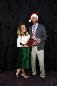 Adult Couple Costume Party Christmas Movie Theme quotHarry