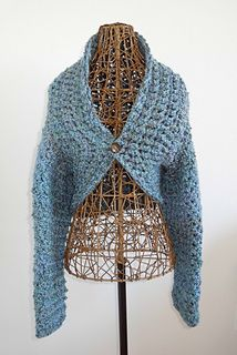 Ravelry: No Seam Crochet Shrug pattern by Michelle @ The Painted Hinge