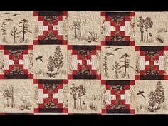 Log Cabin Court House Steps quilt video by Shar Jorgenson - how to match the seam lines - como encontrar as costuras perfeitamente - at Log Cabin Quilts, Log Cabins, Quilting Tutorials, Quilting Ideas, Machine Quilting Designs, Homemaking, Quilt Blocks, Quilt Patterns, Machine Embroidery