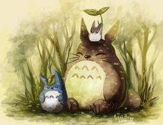 Totoro by CuteSkitty.deviantart.com on @DeviantArt