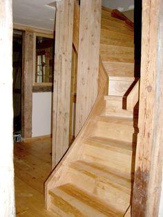 Hardwood Floors, Flooring, Stairs, Home Decor, Stairways, Architecture, Wood Floor Tiles, Wood Flooring, Stairway