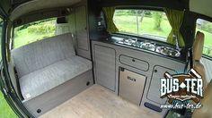 Bus-ter.de Camper Conversions VW Bus T3 Komplettausbau