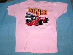 VINTAGE 1988 INDY Indianapolis 500 Racing shirt Medium Screen Stars VTG #ScreenStars #GraphicTee