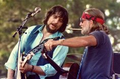 Waylon And Willie, not so much rock musicians, but outlaws just the same