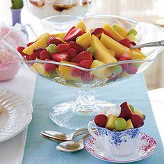 9 Fresh Fruit Salad Recipes   Fruit Salad with Yogurt   SouthernLiving.com