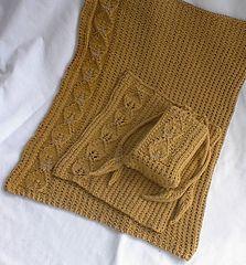 knit pattern - washcloth - Apple Leaf Cloth by Eva Skulbru Eriksen