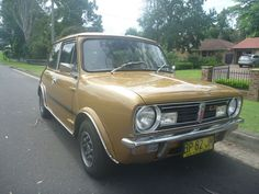 1978 leyland Mini LS 998 Original Rare Car - Nugget Gold. Asking $6,500 ebay 2012