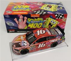 Greg Biffle Diecast 16 2015 SpongeBob Squarepants 1/24 NASCAR   DiecastCarsNow.com
