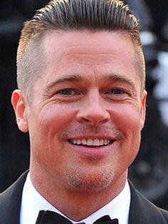 Brad Pitt Fury Hairstyle