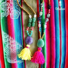 Tassel necklaces - Bohemian Necklaces