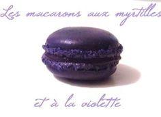 myrtilles et violette