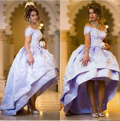 Off Shoulder Lavender Satin Prom Party Dresses Hi Lo Dubai Arabic Ball Gown Prom Gowns With Lace Appliques Stylish Formal Evening Wear Custom Prom Dresses Expensive Prom Dresses From Xzy1984316, $125.84| Dhgate.Com