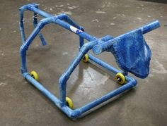 Simple Minds 4 Wheel Roping Dummy