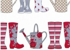 Wellies Thornbury FM3569 Baby Fabric, Colours, Quilts, Holiday Decor, Repeat, Fabrics, Inspiration, Home Decor, Ideas