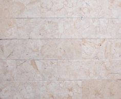 Limestone backsplash