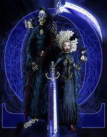 Discworld - Death and Susan by ~ReverendTrigster on deviantART
