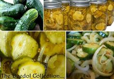 Bread and Butter Pickles... https://grannysfavorites.wordpress.com/2015/10/12/bread-and-butter-pickles/