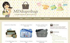 MDdiaperbags Boutique Blog Design | Free Blogger Template, Blogger Widgets,Vector, Icon, Design Resources,Design Inspiration