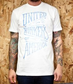 CXXVI Clothing Co. — United Workers White