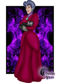 Disney Villain-Lady Tremaine