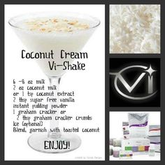 Coconut Cream Vi-Shake