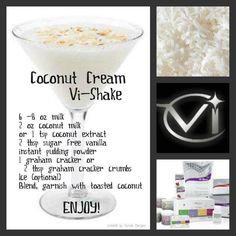 Coconut Cream Vi-Shake