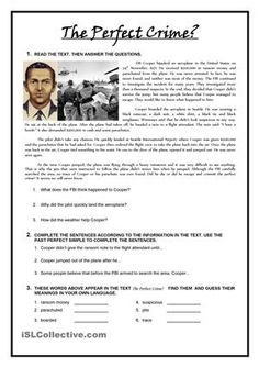 Reading Comprenhension activity. Past Perfect.Two Pages. - ESL worksheets