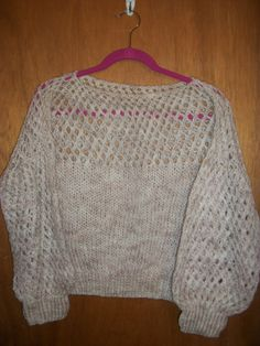 Beige Knitted top in GrandmasClutter's Garage Sale in Colorado Springs , CO for $5.00.