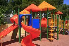 Playground at the Hotel Marina Torrenova 4*, Palma Nova, Mallorca.