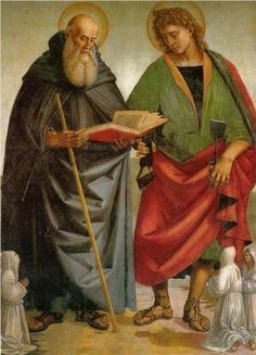 Saints Eligius and Antonio - Luca Signorelli