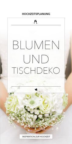 Blumen für die Hochzeit - Blumendeko, Blumenstrauß - Hochzeitsfotograf Hamburg Lüneburg Bremen Hannover