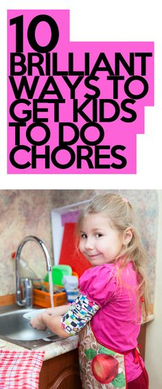 These are so good, especially the first one! http://lifeasmama.com/10-brilliant-ideas-to-motivate-your-children-to-do-chores/