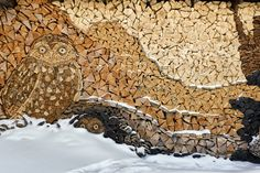 Gary Tallman Woodpile - Country Living