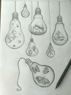 Die 15 Besten Bilder Von Glühbirne Zeichnung Glühbirne