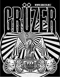 OK, This is a t-shirt, and not a book cover, but I love the art. You can buy this at gruzer.net/store.html and support a Very Bad Ass Southern Heavy Metal band, too.