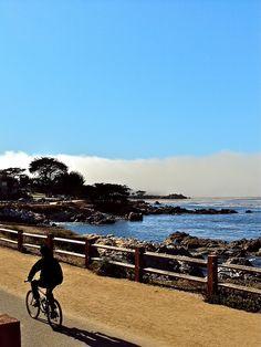 Bike ride along the Coastal Recreation Trail