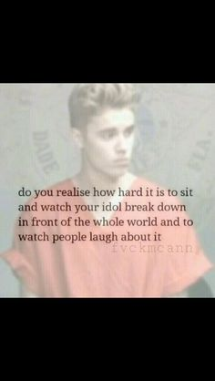It's so hard.. But it makes us Beliebers stronger :) It brings us closer, and lets us know who the back stabbers are. #ihatefakebeliebers
