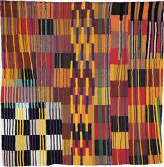 TERESA LANCETA, Tejida abstracción (cuadrados), 2000, Espacio Mínimo