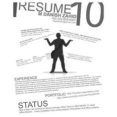 35 Creative Resume Designs To Attract Potential Employer ❤ liked on Polyvore featuring text, quotes, words, article, phrase and saying