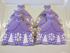 Sofia the First Cookies  One Dozen by CookiesByHannah on Etsy