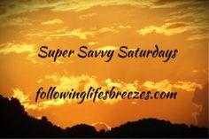 Super Savvy Saturdays 16 April 2016